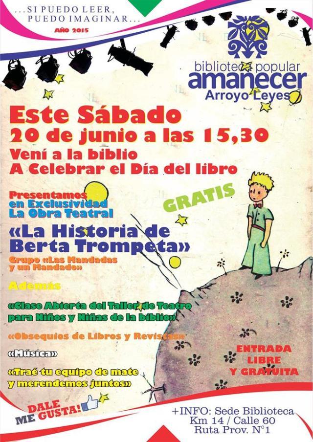 Día del Libro en Arroyo Leyes